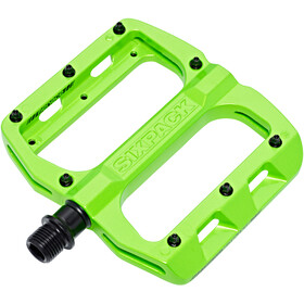 Sixpack Menace Pedals liquid green